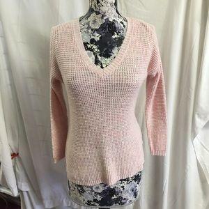 j jill sweater pink v-neck xs